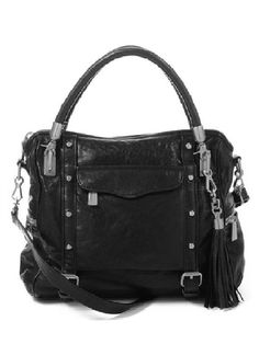 I have an unhealthy addiction to tassels...and handbags! Rebecca Minkoff Cupid