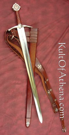 Accolade Sword of the Knights Templar - Jenne gave me this sword for Christmas 2012.