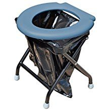 Yachticon Folding Toilet Grey