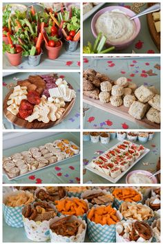 Spring Garden Birthday Party Food 1 Year Old