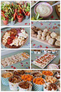 Spring Garden Birthday Party Food