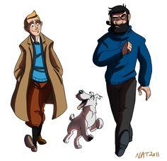 Tintin by *NatAsplund on deviantART
