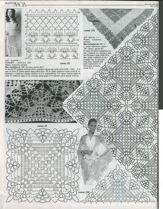 Kira scheme crochet: shawl