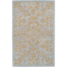 Artistic Weavers Danbury Pale Blue 8 ft. x 11 ft. Area Rug-Gothenburg-811 at The Home Depot