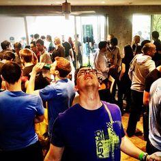 """""""The #harlemshake isn't over for @natewarner. #kloutsxsw"""" -@catgreggs"""