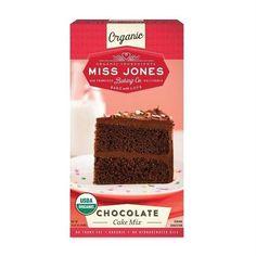 Miss Jones Baking Co Organic Chocolate Cake Mix (6x15.87 Oz)