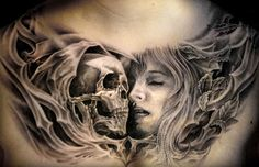 Tattoo Artist - Nicko Metalink | www.worldtattoogallery.com/chest_tattoos