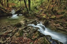 Waterfalls in autumn by marcello.bardi.3