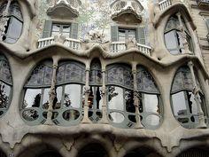 Gaudi en Espagne!