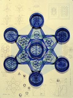 The Archangel Metatron Sacred Symbols, Sacred Art, Tantra, Tarot, Platonic Solid, Sacred Architecture, Geometry Architecture, Architecture Design, Mystique