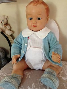 Ancien baigneur poupon poupée Petit Colin Petitcollin 55 cm tenue d'origine 1935 in Jouets et jeux, Poupées, vêtements, access., Poupées anciennes | eBay Doll Toys, Baby Dolls, Old Dolls, Vintage Dolls, Antiques, Collection, Google, Activity Toys, Reborn Baby Girl