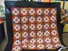 Echoing Stars, designed by Judy Martin for her book, Stellar ... : shipshewana quilt shops - Adamdwight.com
