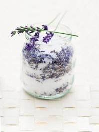 Lavender Sugar {recipe} - 2 tablespoons of dried lavender buds with 1 cup of sugar in a jar. Allow the mixture to infuse in a cabinet for 1 to 2 weeks, shaking every day or so. After the sugar has absorbed the lavender flavor, strain out the lavender buds, and start using your delicious, gourmet sugar.