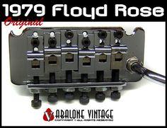 1979 Floyd Rose pre-production Tremolo - Revolutionary Design