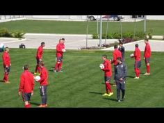 Complete Football Soccer Warm Up with the Ball 2 - YouTube