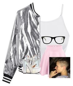 """""""Date with Zach!"""" by sophiakoury ❤ liked on Polyvore featuring LE3NO, Sans Souci, Calvin Klein, Body by Victoria, Muse and Clayton"""