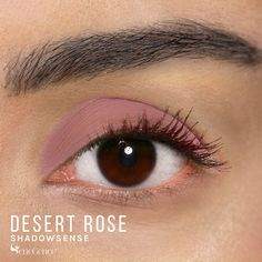Limited Edition Desert Rose ShadowSense is part of the California Dreamin' Collection.  It is described as an earthy, neutral-to-cool mauve color with a semi-matte finish.  Feel like you are on a vacation whenever you apply this beautiful color. #summer #californiadreamin #shadowsense #senegence