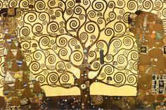 The Tree of Life Poster by Gustav Klimt at Art.com