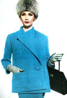 Vogue Pattern Book Winter 1961/1962,  Suit Nina Ricci, photo Tom Palumbo