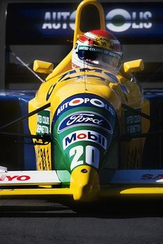 f1pictures:  Nelson Piquet Benetton - Ford 1991