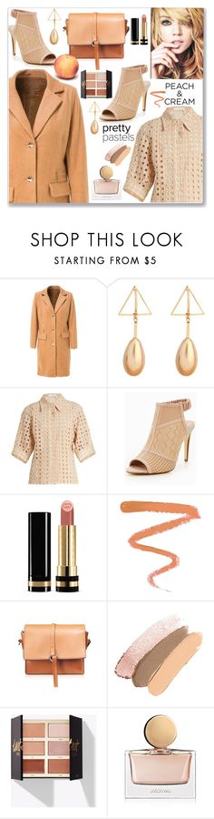 """""""She's a Peach: Work Wear"""" by jecakns ❤ liked on Polyvore featuring Cambio, Chloé, Gucci, Ellis Faas and Jason Wu"""