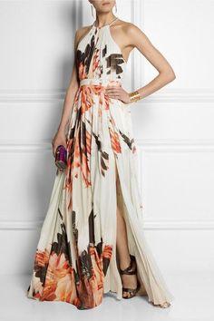 Look! Шикарные макси платья с цветочным принтом! 5