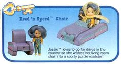 Wish World Kids / Alibabettes - Read'n Speed Chair (1987)