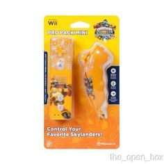 Power A Skylanders Wii Mini Controller w/ Nunchuk (Available in Orange)