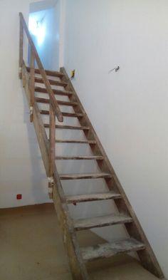 Escada rustica