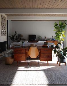 Mid-century modern Eichler original home.