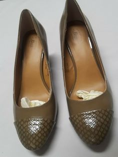 3056a8223d09 G.H. BASS   CO Women 8.5M Olive Green Pumps Career Comfort  fashion   clothing  shoes  accessories  womensshoes  comfortshoes (ebay link)