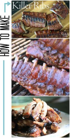 Step by step tutorial on how to make killer baby back ribs.  Warning, this #recipe post will make your mouth water!  http://fabulesslyfrugal.com/how-to-make-killer-baby-back-ribs/