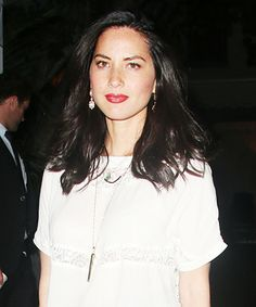 Look of the Day - Olivia Munn in the Stella & Dot Rebel Pendant and Renegade Bracelets from #InStyle