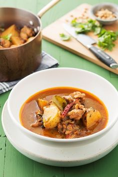 THAI MASSAMAN CHICKEN CURRY  A sweet, peanutty and ultra tasty Thai massaman curry is a favourite in my house. My version is infused with savoury spices, fragrant Thai herbs and golden roasted peanuts.
