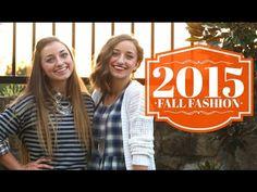 Fall 2015 Fashion Lookbook | Brooklyn and Bailey - YouTube