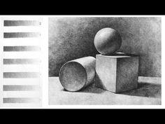 Art Shima - Основы Светотени в Рисунке Карандашом
