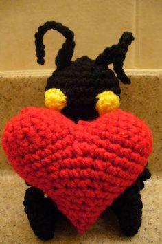 Heartless love Valentines Day! (Pattern Added) - CROCHET