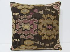 tapestry pillow cover 18x18 turkish pillow by DECOLICKILIMPILLOWS