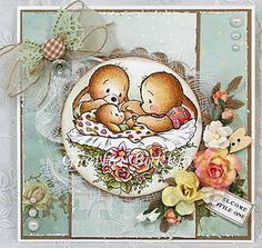 Het kaartenhoekje van Gretha: Cuddly Buddly 'Little bundle of Joy'