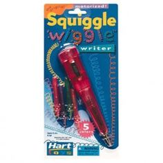 I was just laying in bed after feeding Mason and had a flashback of this pen and HAD to find one on the internet and pin it!!!! #SquiggleWigglePen! I loved this when I was younger!!!