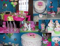 My daughter's 4th Lalaloopsy Birthday Party!