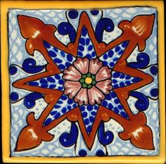 Mexican+tile | Special 2 Traditional Mexican Tile - Latin Accents
