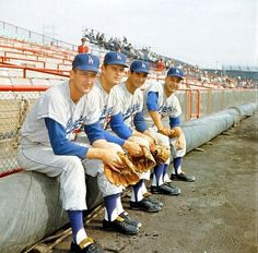 Craig, Drysdale, Koufax and Podres.