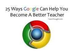 25 Ways Google Can Help You Become A Better Teacher