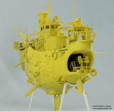 Floating Ship Concept view 4 by AUMAKUA70.deviantart.com on @DeviantArt