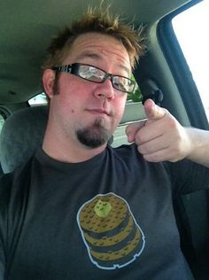 @Chad of the Valley wearing his #ShortStackSwag. The pancake tee is one our favorites, too!
