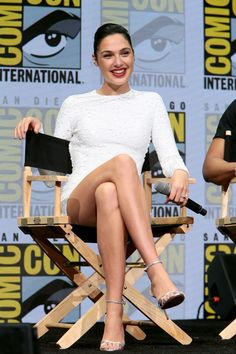 Gal Gadot at the Warner Bros. Pictures Panel at Comic-Con, San Diego (22 July, 2017)