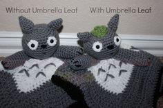 Made To Order: Totoro Crochet Lovie Blanket Anime Amigurumi Baby Blanket Baby Shower Gift Christmas Birthday Photo Prop Geek Snuggle Blanket