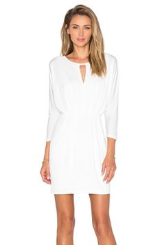 Revolve BLACK Luxe Liquid Jersey Gathered Mini Dress Found on my new favorite app Dote Shopping #DoteApp #Shopping