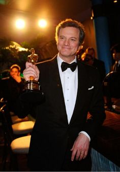 He was so handsome at the 2011 Oscars! And so brilliant in The Kings Speech.